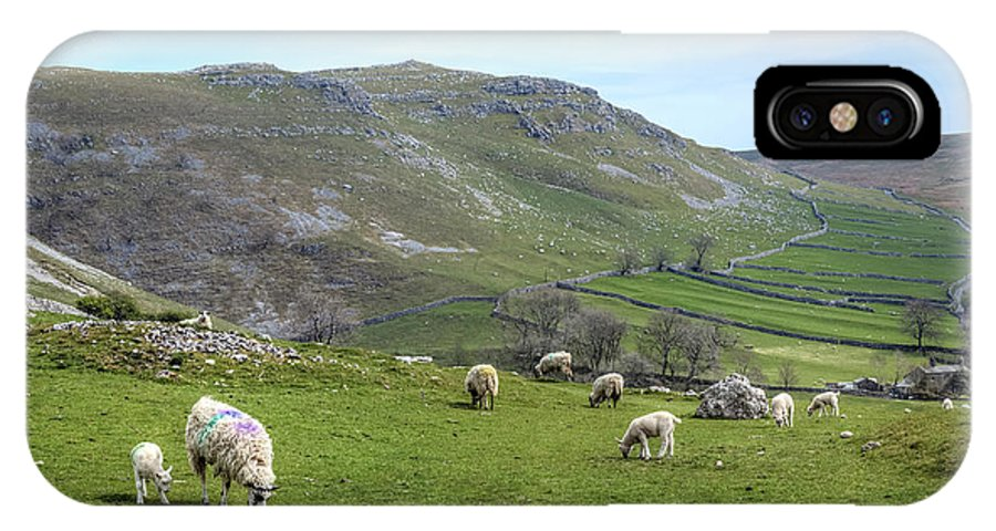 Malham IPhone X / XS Case featuring the photograph Yorkshire Dales - England by Joana Kruse