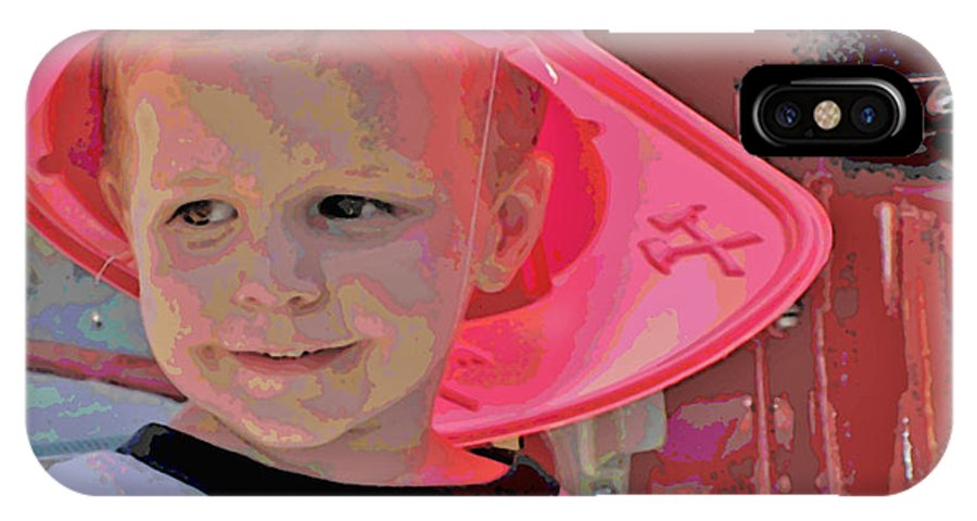 Chidren IPhone X Case featuring the photograph Children Series by Ginger Geftakys