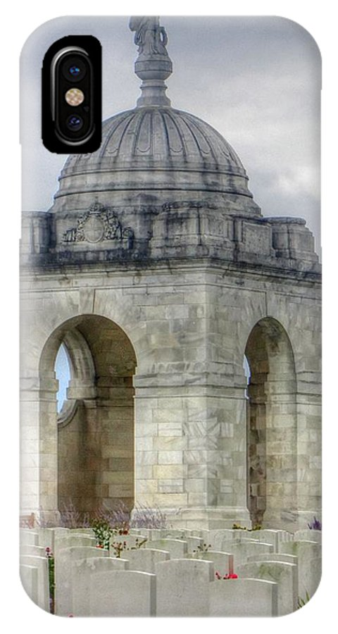 Flanders Fields Belgium IPhone X Case featuring the photograph Flanders Fields Belgium by Paul James Bannerman