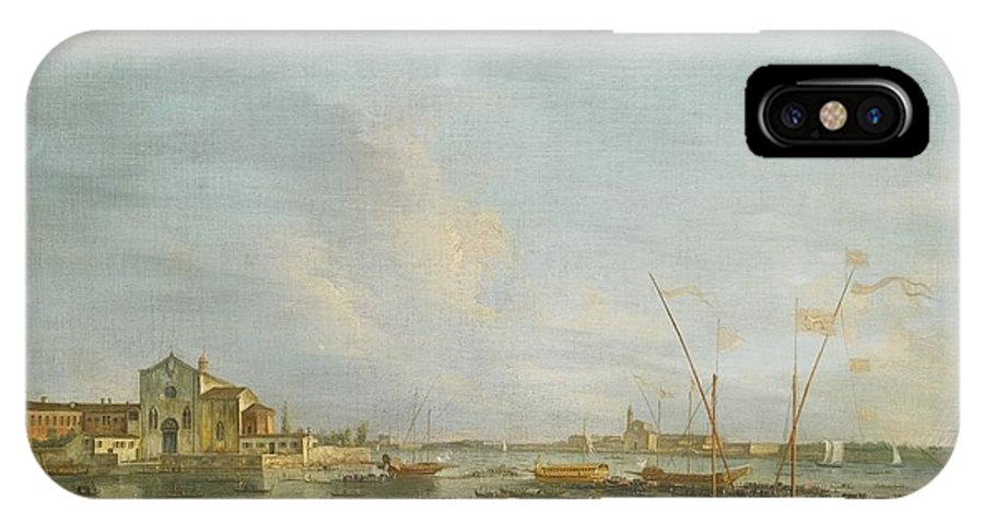 Francesco Tironi Venice IPhone X Case featuring the painting Venice by Celestial Images