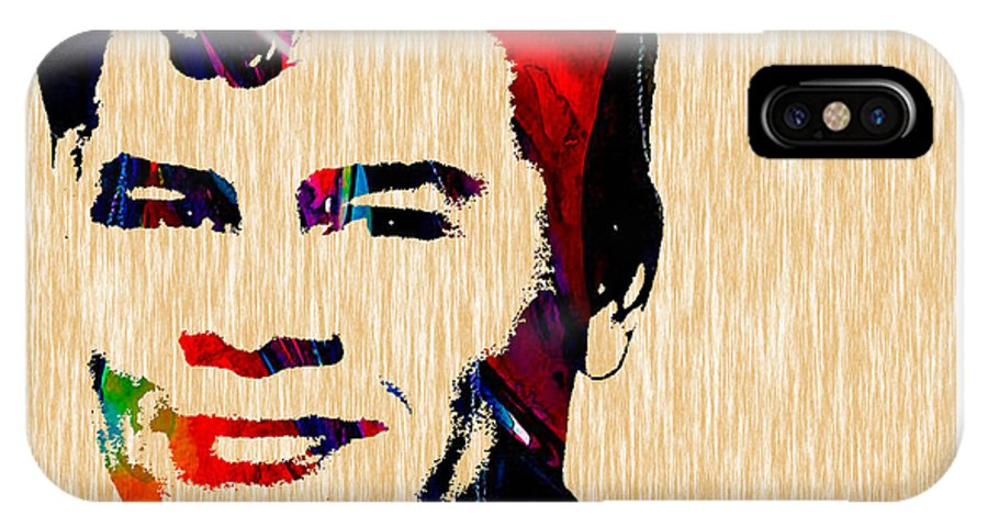 Ritchie Valens IPhone X Case featuring the mixed media Ritchie Valens Collection by Marvin Blaine