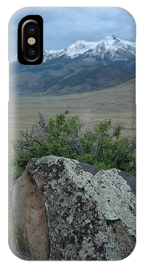 Landscape IPhone X Case featuring the photograph Untitled by Kathy Schumann