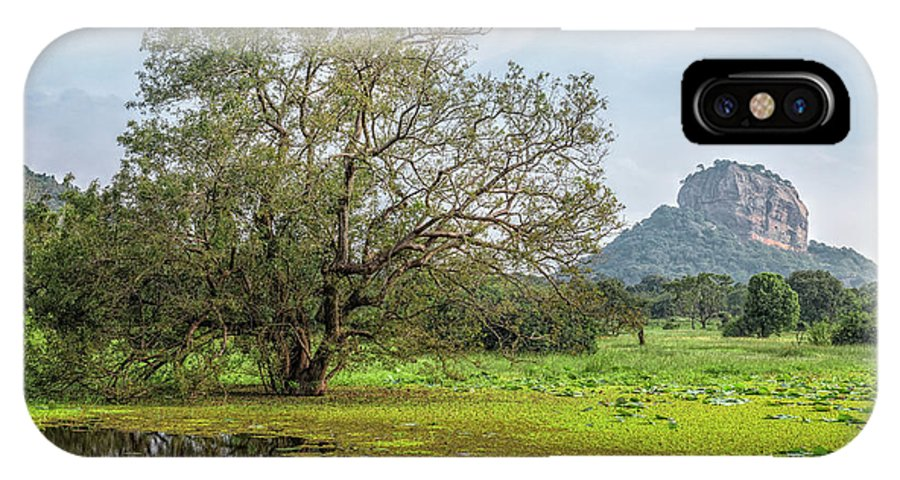 Sigiriya IPhone X Case featuring the photograph Sigiriya - Sri Lanka by Joana Kruse