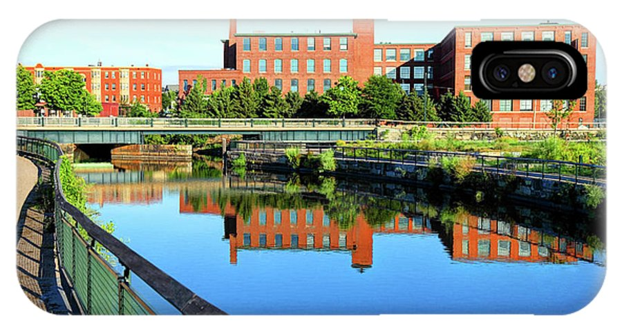 Lowell IPhone X Case featuring the photograph Lowell, Massachusetts by Denis Tangney Jr