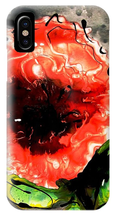 Nature IPhone X Case featuring the photograph Heavenly Flowers by Baljit Chadha