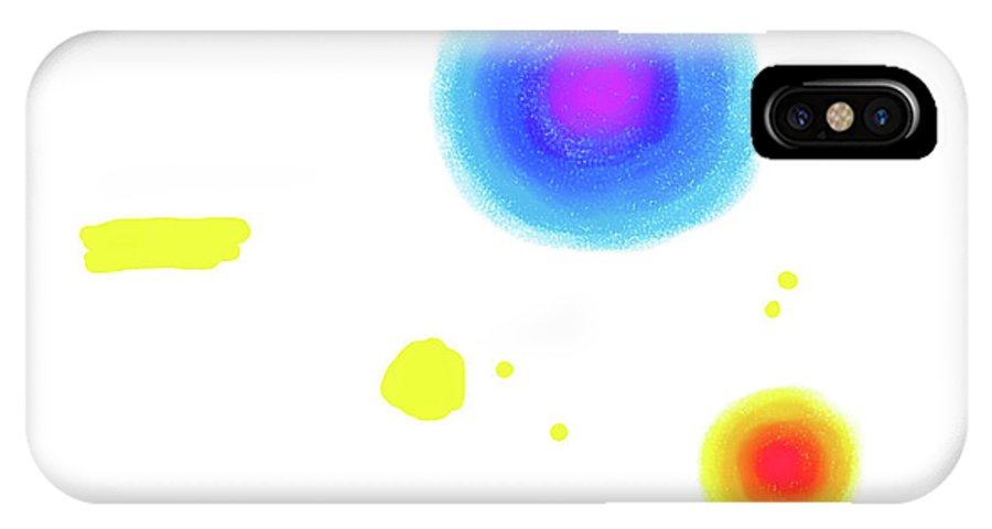 Painting IPhone X / XS Case featuring the painting 150812ca by Toshio Sugawara