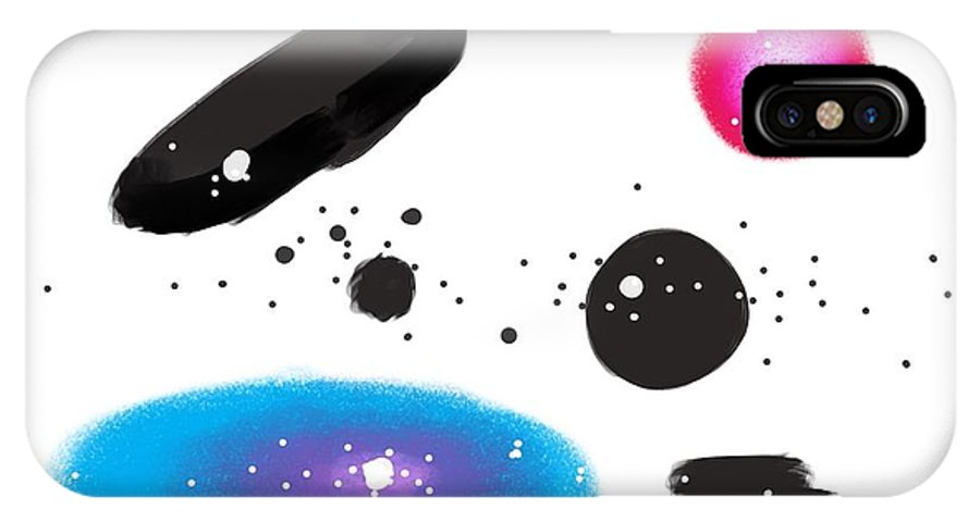 Painting IPhone X / XS Case featuring the painting 150815ca by Toshio Sugawara