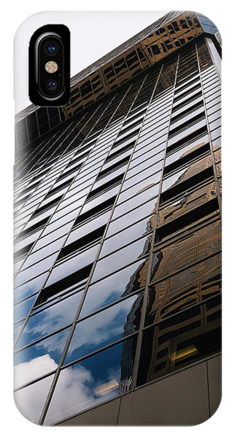 Architecture IPhone X Case featuring the photograph Denver Building Study by CEB Imagery