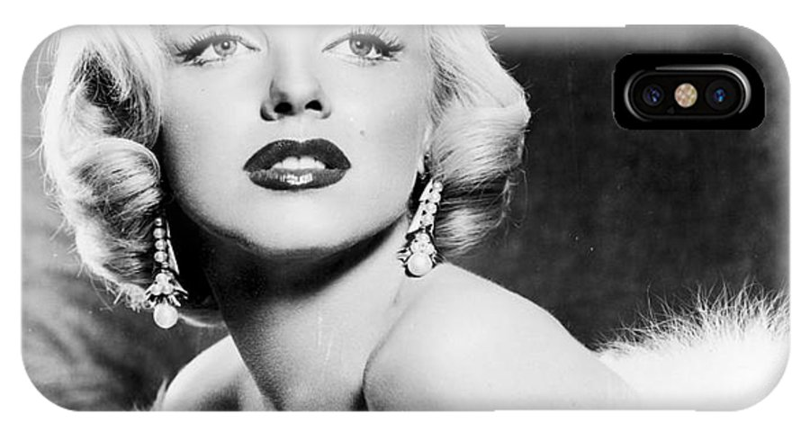 20th Century IPhone X Case featuring the photograph Marilyn Monroe by Granger