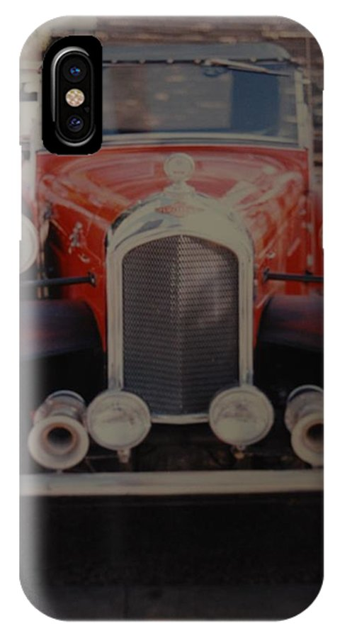 Car IPhone X Case featuring the photograph 1932 by Rob Hans