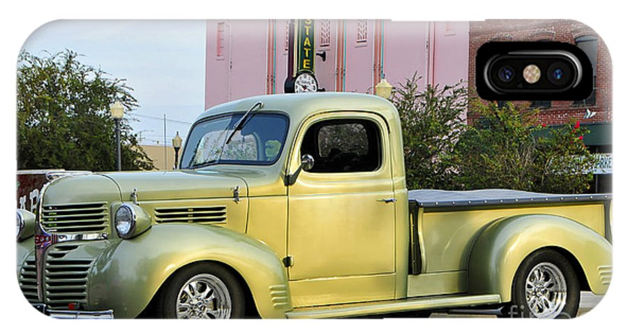 1940 Dodge IPhone X Case featuring the photograph 1940 Dodge Pickup by David Lee Thompson