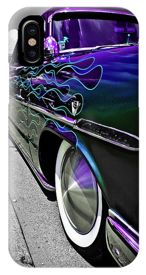 1953 Ford Customline IPhone X Case featuring the photograph 1953 Ford Customline by Joann Copeland-Paul