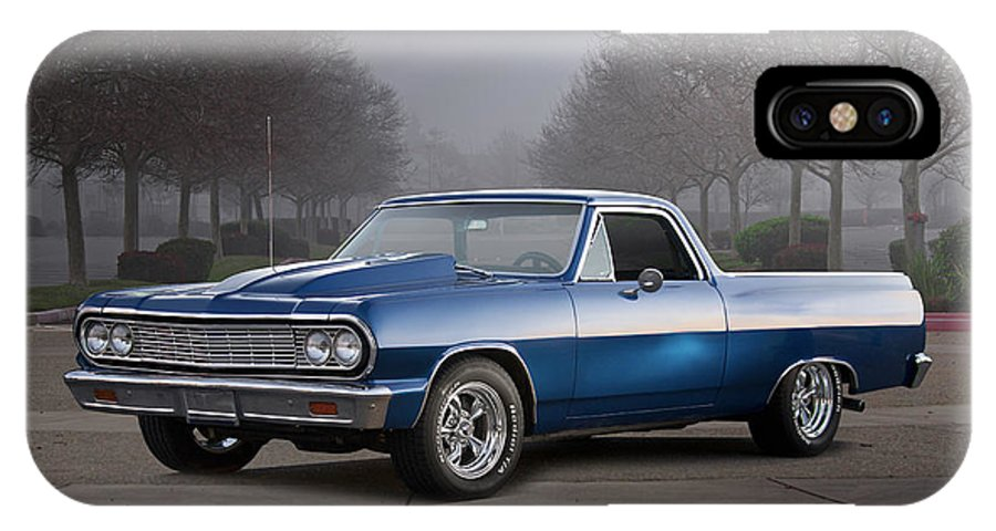 Automobile IPhone X Case featuring the photograph 1964 Chevrolet El Camino IIi by Dave Koontz