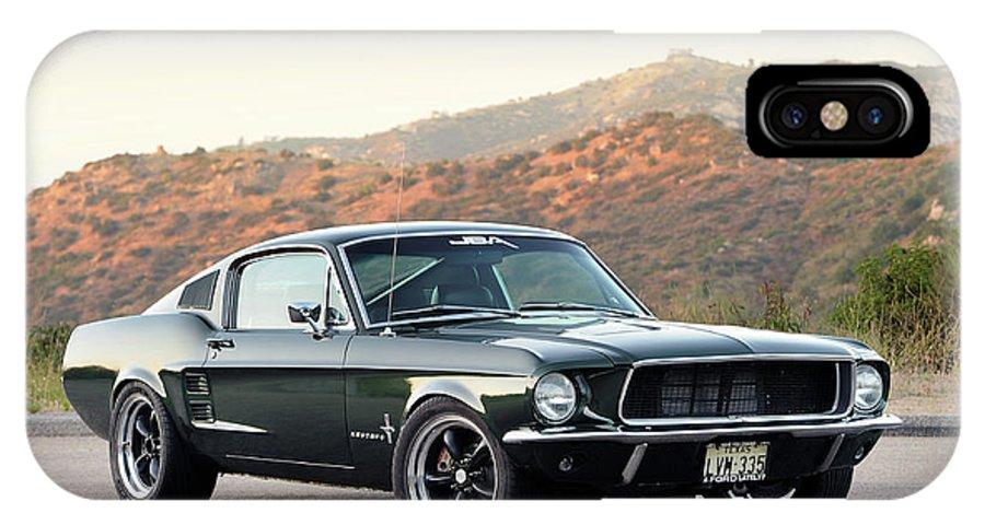 Ford Mustang Fastback >> 1968 Ford Mustang Fastback Iphone X Case