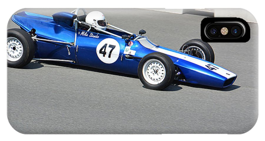 1972 IPhone X / XS Case featuring the photograph 1972 Titan Formula Ford Mk6 by Mike Martin