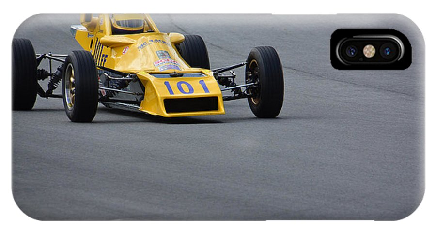 Vintage IPhone X / XS Case featuring the photograph 1980 Van Diemen Rf80 by Mike Martin