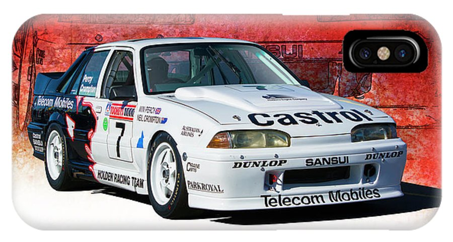Group A IPhone X Case featuring the photograph 1989 Vl Commodore Walkinshaw by Stuart Row