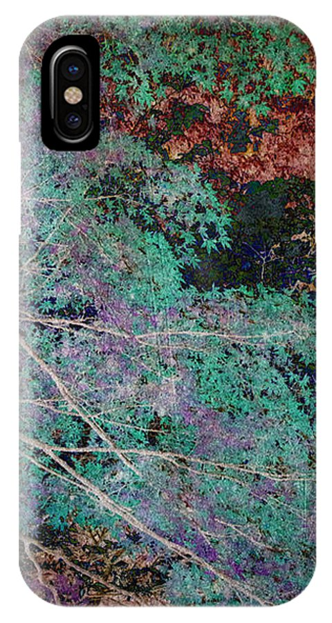 Forest IPhone X Case featuring the photograph A Forest Of Magic by Eena Bo