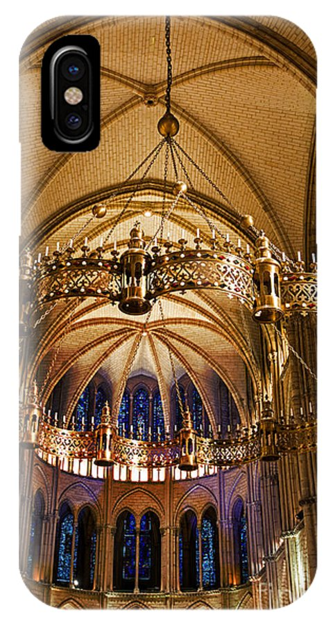 Abbey Of Saint-remi Reims IPhone X Case featuring the photograph Abbey Of Saint - Remi Reims by Yefim Bam