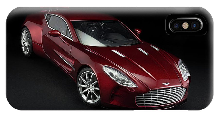Aston Martin IPhone X Case featuring the photograph Aston Martin One-77 by Evgeny Rivkin