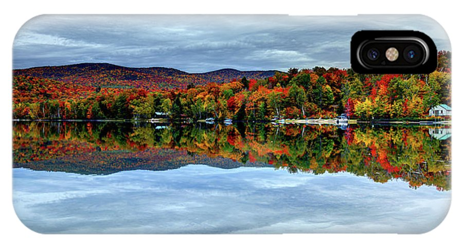 White Mountains IPhone X Case featuring the photograph Autumn In The White Mountains Of New Hampshire by Denis Tangney Jr
