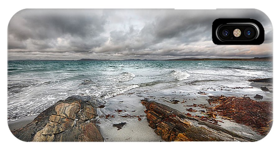 Berneray IPhone X Case featuring the photograph Berneray Views by Smart Aviation
