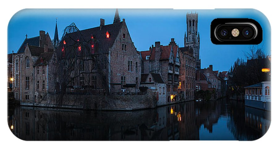 Belfort IPhone X / XS Case featuring the photograph Bruges by Johannes Valkama