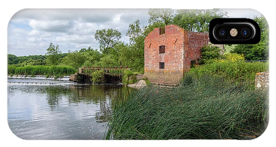 Cut Mill IPhone X Case featuring the photograph Cut Mill Sturminster Newton - England by Joana Kruse