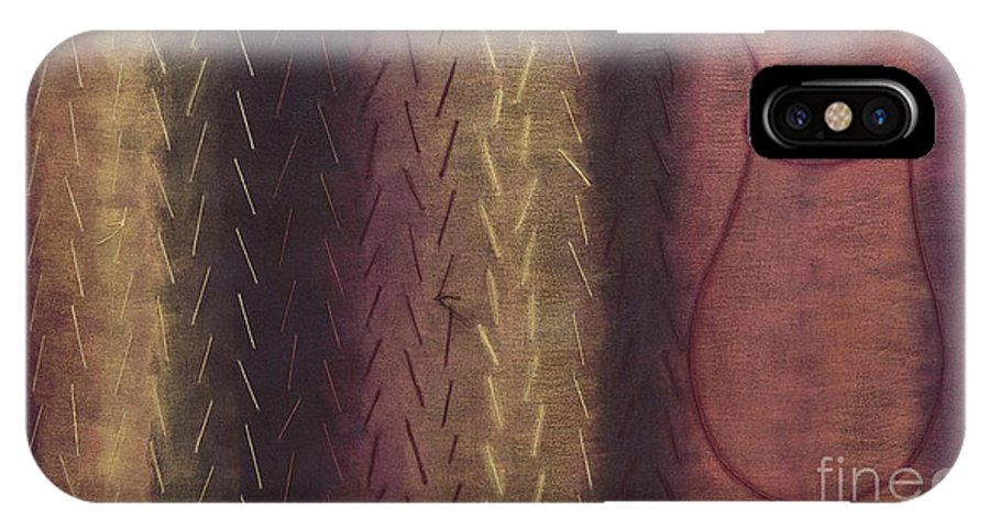 Acrylic IPhone Case featuring the painting Embodiment - Divine Source by Kerryn Madsen- Pietsch