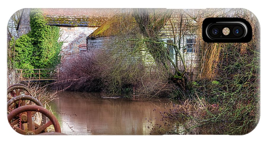 Fiddleford Mill IPhone X Case featuring the photograph Fiddleford Mill - England by Joana Kruse
