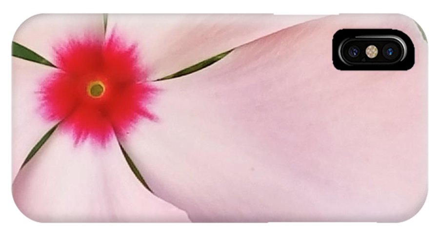 Flower IPhone X Case featuring the digital art Flower by Sobano S