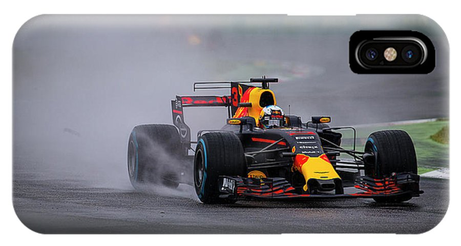 Sauber IPhone X Case featuring the photograph Formula 1 Monza 2017 by Srdjan Petrovic