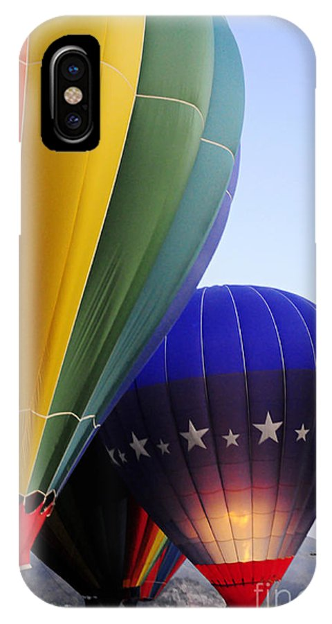 Clay IPhone X Case featuring the photograph Glowing by Clayton Bruster