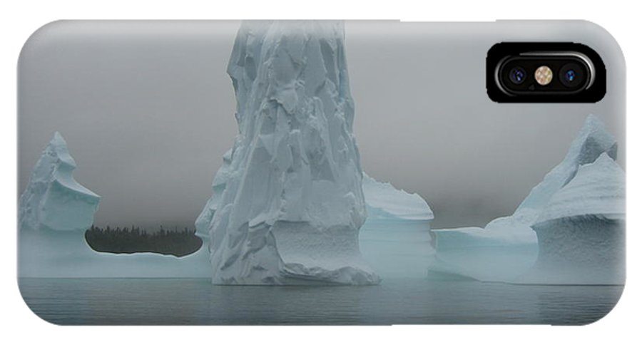Icebergs Newfoundland IPhone X Case featuring the photograph Icebergs by Seon-Jeong Kim