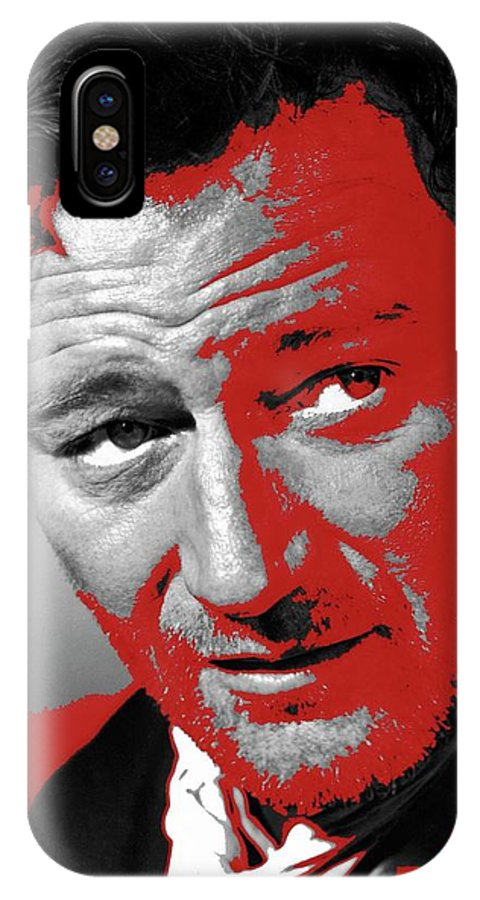 John Wayne 3 Godfathers Publicity Photo 1948-2013 IPhone X Case featuring the photograph John Wayne 3 Godfathers Publicity Photo 1948-2013 by David Lee Guss