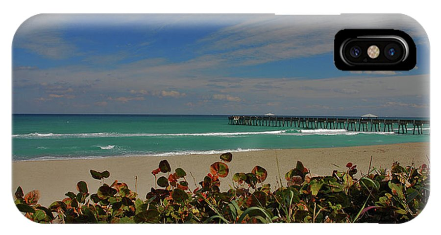 Juno Pier IPhone X Case featuring the photograph 2- Juno Pier by Joseph Keane