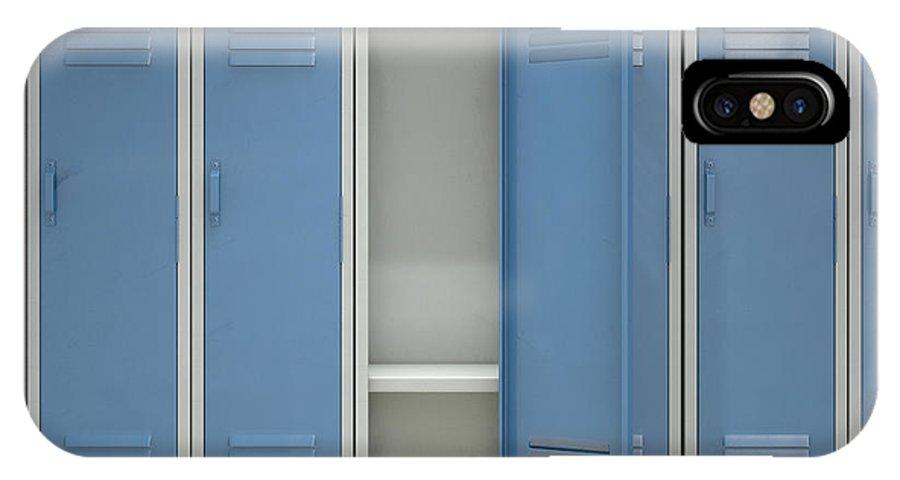 Locker Open Iphone X Case For Sale By Allan Swart
