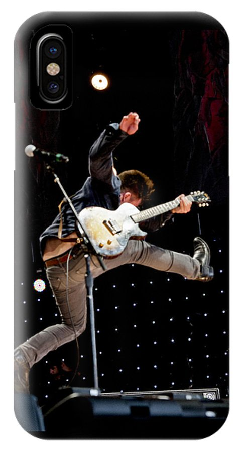 2014 IPhone X Case featuring the photograph Lucas Nelson by Ken Howard