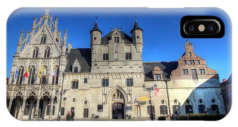 Mechelen Belgium IPhone X Case featuring the photograph Mechelen Belgium by Paul James Bannerman