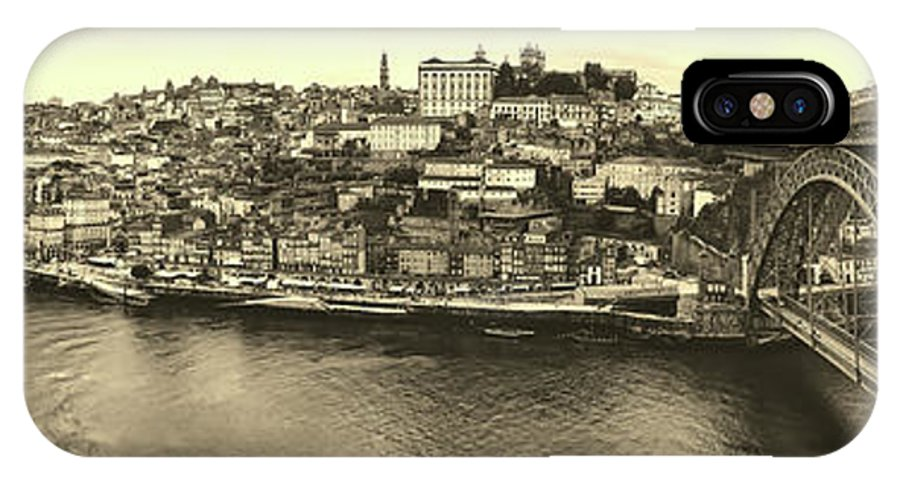 Porto IPhone X Case featuring the photograph Porto, Portugal Panorama by Pixabay