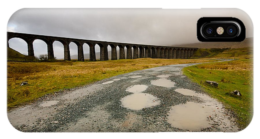 Ribblehead Viaduct IPhone X / XS Case featuring the photograph Ribblehead Viaduct by Smart Aviation