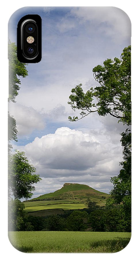 Cleveland IPhone X Case featuring the photograph Roseberry Topping by Gary Eason