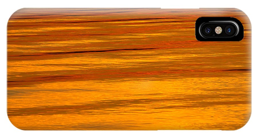 Sunset IPhone X Case featuring the photograph Sunset by Silke Magino