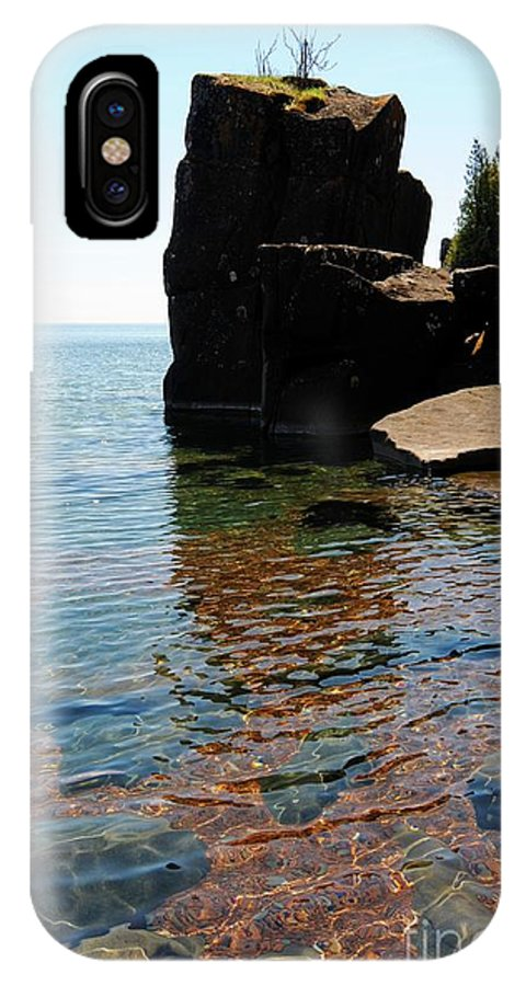 Lake Superior IPhone X / XS Case featuring the photograph Superior Beauty by Sandra Updyke