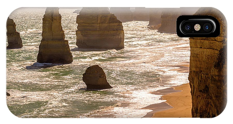 12 Apostles IPhone X Case featuring the photograph The Twelve Apostles by Andrew Michael