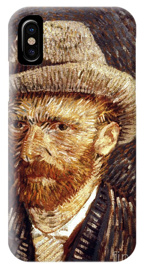 1887 IPhone X Case featuring the photograph Vincent Van Gogh by Granger