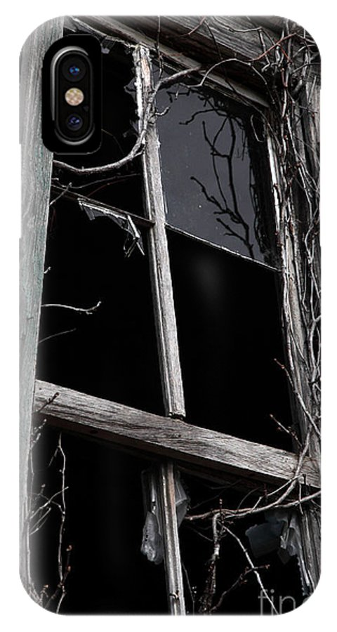 Windows IPhone X Case featuring the photograph Window by Amanda Barcon