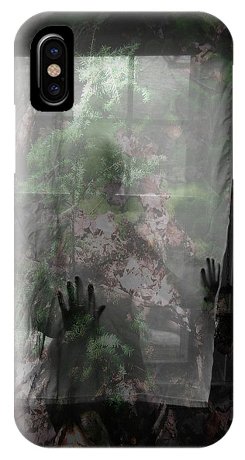 Nudes IPhone X Case featuring the photograph Window Wonder by Trish Hale
