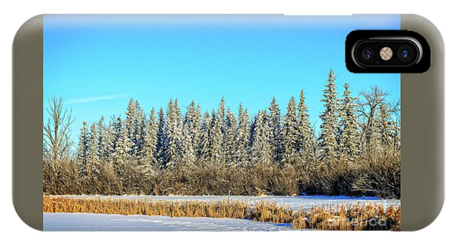 Photo IPhone X / XS Case featuring the photograph Winter by Viktor Birkus