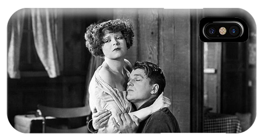 -couples- IPhone X Case featuring the photograph Silent Film Still: Couples by Granger